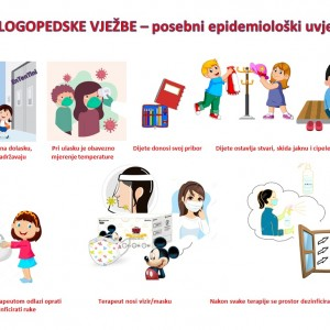 epidemioloski uvjeti logopedski kabinet ententini